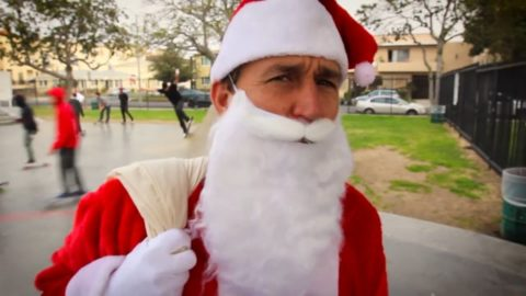 Red Bull presents: Secret Santa: Ollie Jolly Christmas - Vimeo / True Skateboard Mag's videos