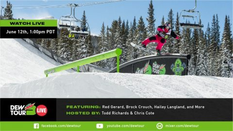 Red Gerard, Hailey Langland, Brock Crouch: Dew Tour Live Episode 5 | Dew Tour