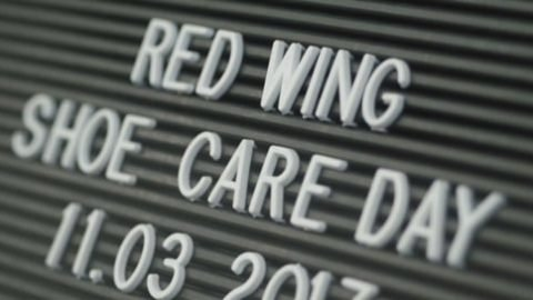 Red Wing Shoe Care Day - Vienna - 11.03.2017 | trianglevienna