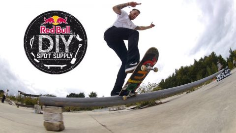 REDBULL DIY 2017 - SMASH SKATES - Trowse - Five eyes Skateboarding