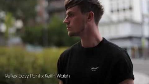 Reflex Easy Pant x Keith Walsh clip | Reell Teamriders