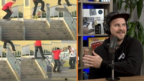 Remember Scott Kane's Switch Heel Front Nose On A Rail? | The Nine Club Highlights
