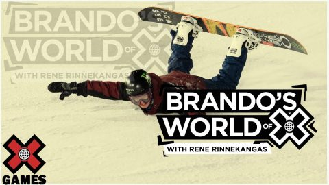 RENE RINNEKANGAS: Brando's World of X | X Games | X Games