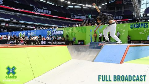 REPLAY: Men's Skateboard Park | X Games Minneapolis 2019 | X Games