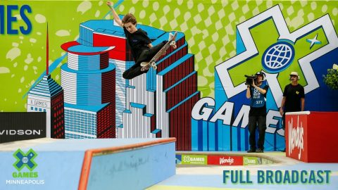 REPLAY: Next X Skateboard Park | X Games Minneapolis 2019 | X Games