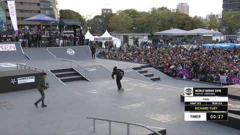 Richard Tury | 2nd Final Skateboard - FISE Hiroshima 2018 - FISE