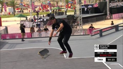 Richard Tury | 2nd place – Skateboard Street Pro Final | FISE Battle of the Champions 2019 | FISE