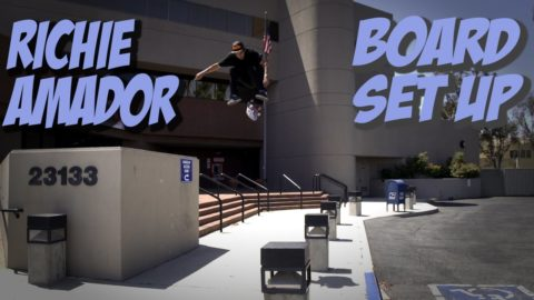 RICHIE AMADOR - BOARD SET, INTERVIEW & LOST PART !!!