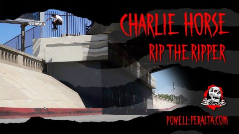 RIP THE RIPPER - CHARLIE HORSE | Powell Peralta