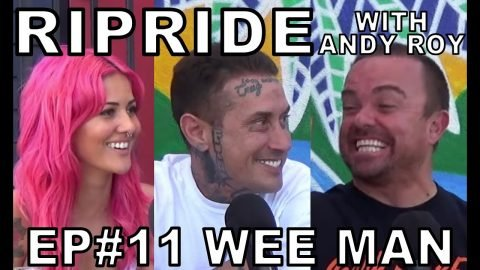 Ripride with Andy Roy episode 11 with Wee Man | Dear Andy