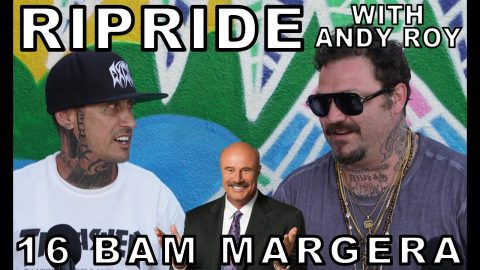 Ripride with Andy Roy episode 16 with Bam Margera | Dear Andy