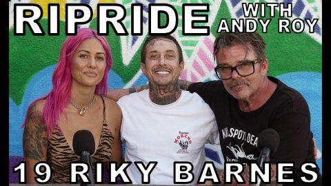 Ripride with Andy Roy episode 19 with Riky Barnes | Dear Andy