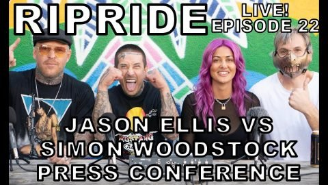 Ripride with Andy Roy Episode 22 Jason Ellis VS Simon Woodstock Press Conference ft. Mike Catherwood | Dear Andy