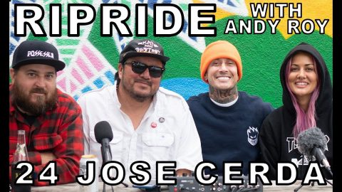 Ripride with Andy Roy Episode 24 with Jose Cerda ft. Heavy Metal Chuck | Dear Andy