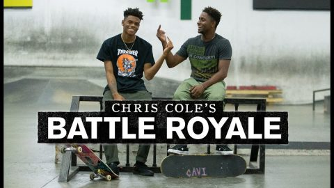 Robert Neal And Aramis Hudson Battle It Out | Battle Royale | The Berrics