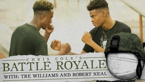 Robert Neal Vs. Tre Williams - Battle Royale | The Berrics