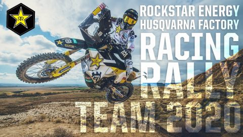Rockstar Energy | Husqvarna Factory Racing Rally Team 2020 | Rockstar Energy