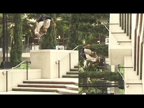 Rodrigo TX's First Day In LA (1999) - with Colin Kennedy - The Berrics