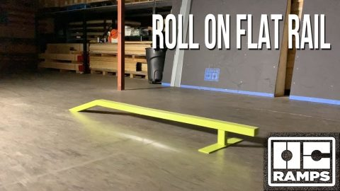 Roll-On Skate Rail | OC Ramps
