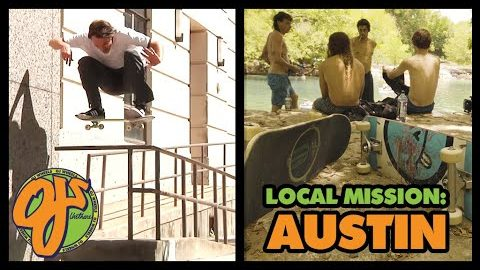 Roll with the Crew! Ripping Spots and Solid Eats in ATX | Local Mission Ep. 1 | OJ Wheels