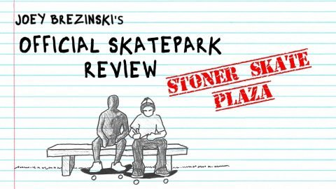Rolling Up To Stoner Skate Plaza | Official Skatepark Review | Red Bull Skateboarding