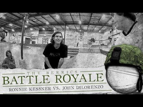 Ronnie Kessner & John Dilo - Battle Royale - The Berrics