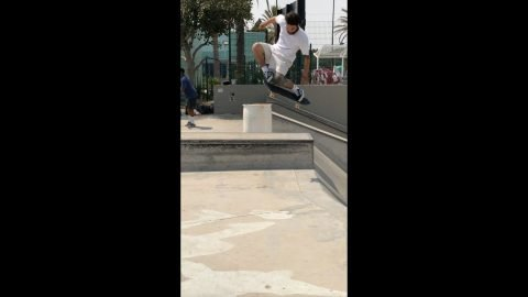 Ronnie Sandoval at Alondra Park | thejoeface1