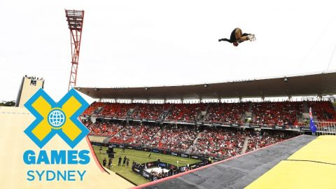Rony Gomes wins Skateboard Big Air silver | X Games Sydney 2018 | X Games