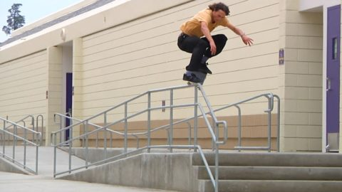 "Rough Cut: Evan Smith's ""Spitfire"" Part - ThrasherMagazine"