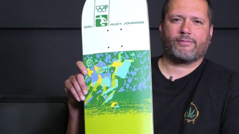 Rudy Johnson Olympic Re-Issue | Girl Skateboards | crailtap