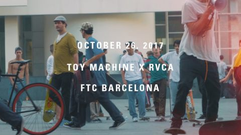 RVCA X Toy Machine Release Party At FTC | LiamWhoFilms