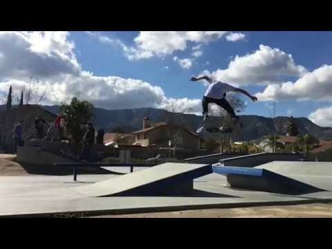 Ryan Alvero at Serenity Skatepark - Active Ride Shop