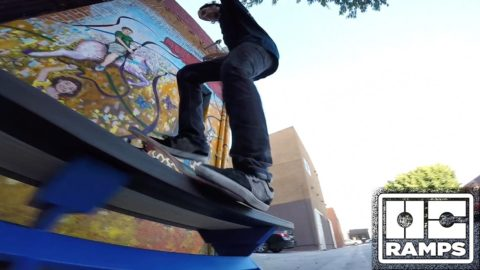 Ryan Decenzo & Greg Lutzka 'In the Streets' - Butter Benches - OC Ramps