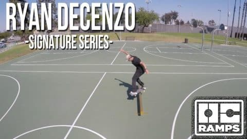 Ryan Decenzo's Gold Bar Rail - Signature Series by OC Ramps - OC Ramps