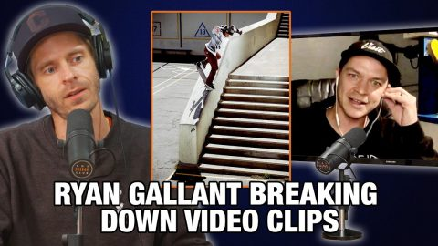 Ryan Gallant Talks About His Kickflip Back Noseblunt Down Clipper And More! | Nine Club Highlights