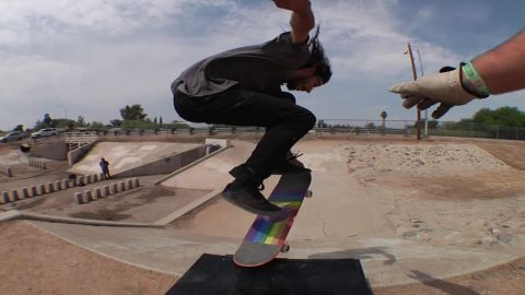 Ryan Reyes Skates Trash - Krux Trucks