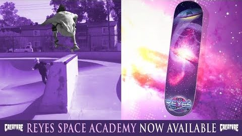 Ryan Reyes' Space Academy Everslick Deck | Creature Skateboards