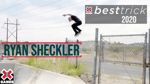 Ryan Sheckler: REAL STREET BEST TRICK 2020 | World of X Games | X Games