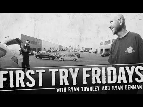 Ryan Townley - First Try Friday - The Berrics