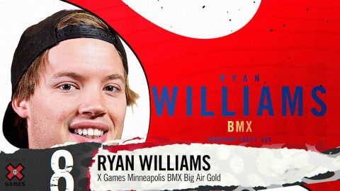 RYAN WILLIAMS: #8 | X Games 2019 Top 10 Moments | X Games