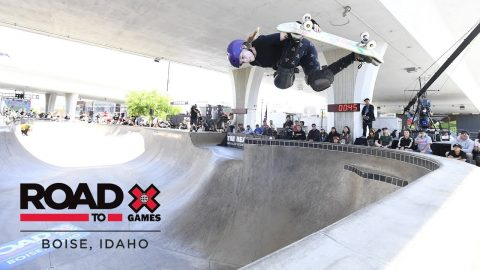 Sabre Norris wins Women's Skate Park | Road To X Games Boise 2018 | X Games
