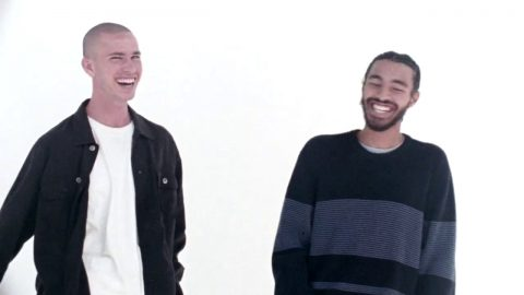 "Sage Elsesser and Bobby Dekeyzer for the Converse Cons ""Case Study"" 