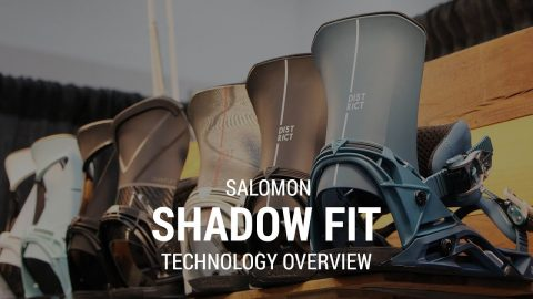 Salomon Shadow Fit Tech Overview 2019 Snowboard Bindings - Tactics.com - Tactics Boardshop