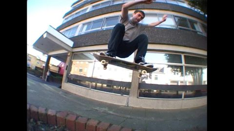 Sam Dolman and friends section pt1 from Not the New Drug Store Video | Five eyes Skateboarding