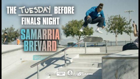 Samarria Brevard: Countdown To Finals Night | WBATB | The Berrics