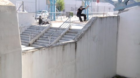 Samu Karvonen in Antiz's 'Healthcare' | Freeskatemag