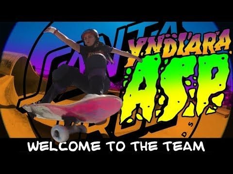 Santa Cruz Skateboards Welcomes Yndiara Asp! - Santa Cruz Skateboards