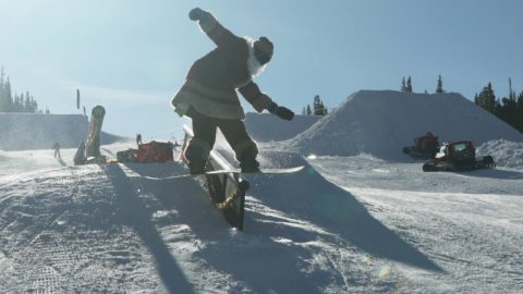 Santa Slays 2: Holiday Boarding at Woodward Copper - Woodward Camp