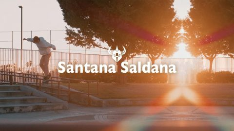 Santana Saldana | Welcome to Darkstar - The Berrics