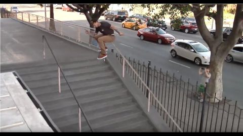 Sascha Daley Cab down Hollywood 16 Rough Cut | thejoeface1
